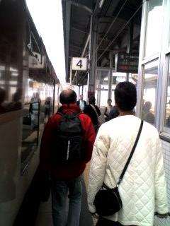 出雲市駅につきました。