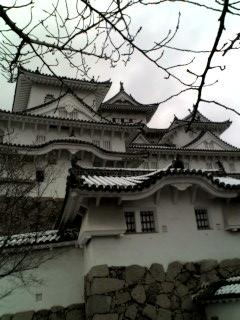 お城です。