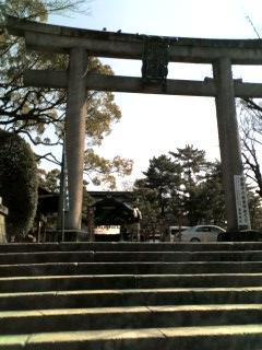 豊国神社まえとおり、