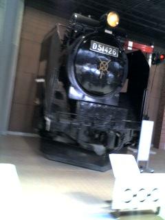 鉄道博物館です。