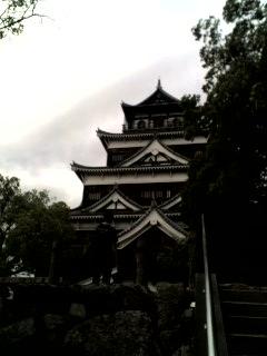 広島城です!
