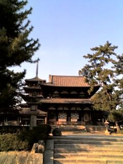 法隆寺です。